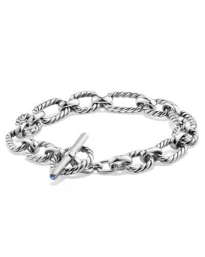 9.5mm Cushion Link Chain Bracelet