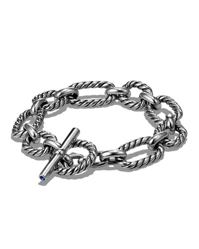 12.5mm Cushion Link Chain Bracelet