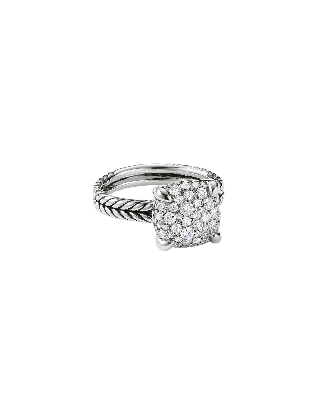 11mm Chatelaine Diamond Mosaic Ring