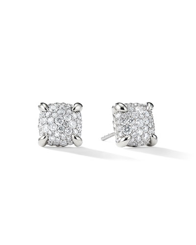 9mm Châtelaine Diamond Mosaic Earrings