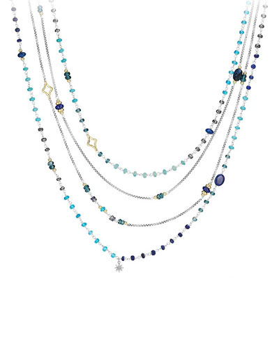 Spring Bead Layering Necklace, 82
