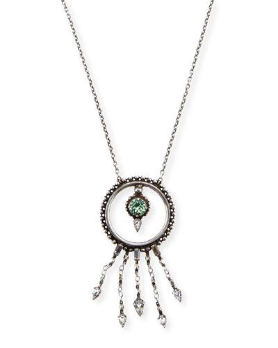 Amandia Round Pendant Necklace