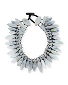 Three-Strand Mother-of-Pearl Necklace