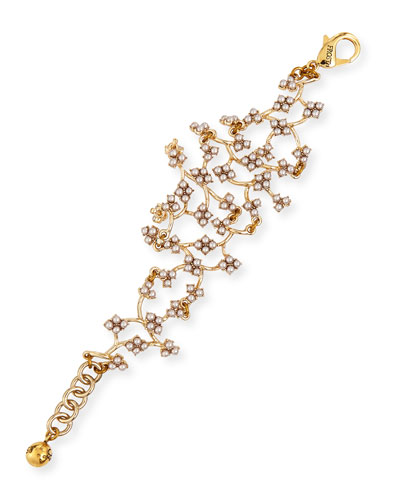 Jackie Web Link Bracelet