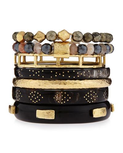 Mtindo Seven-Piece Bracelet Set