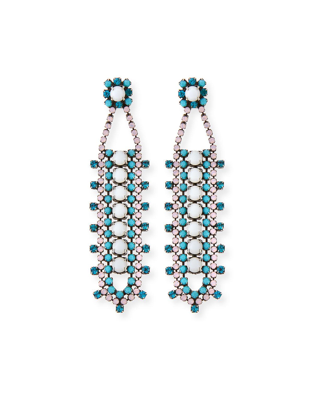 Violeta Crystal Drop Earrings