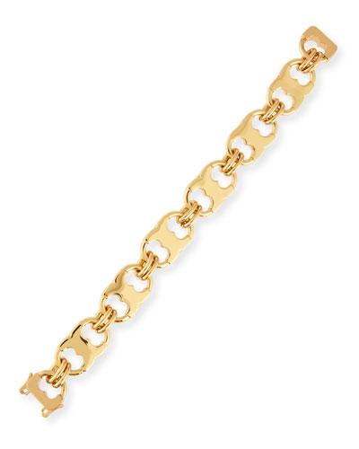 Gemini Golden Link Bracelet