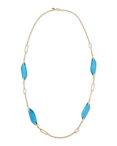Reversible Liquid Link Necklace