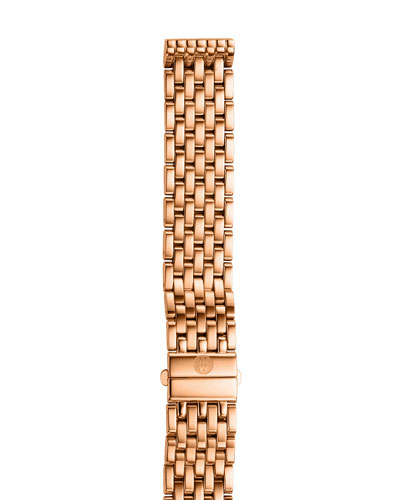 16mm Deco Rose Gold Bracelet Strap