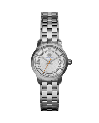 28mm Tory Bracelet Strap Watch, Silvertone