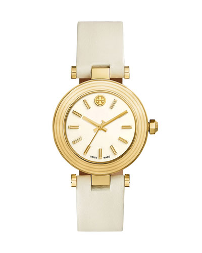 Classic T Stainless Steel Watch, Ivory