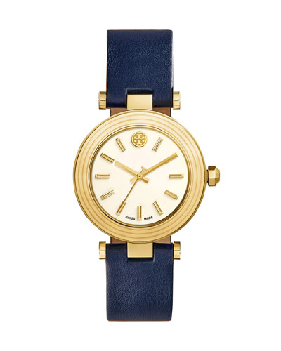 Classic T Stainless Steel Watch, Navy
