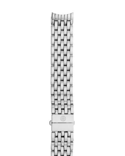 Deco II Midsize Seven-Link Bracelet Strap, Silver