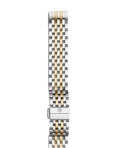 Deco II Midsize Seven-Link Bracelet Strap, Two-Tone
