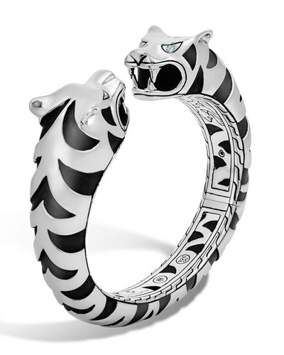 Macan Large Sterling Silver Kick Cuff