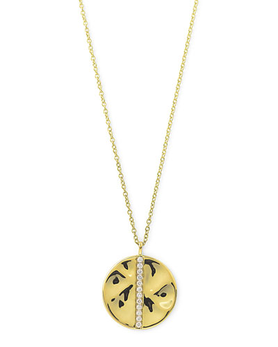 ICE18K Gold & Diamond Pendant Necklace