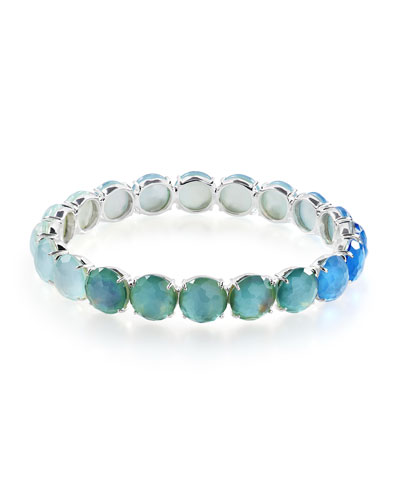 Rock Candy Wonderland Colorblock Bracelet in Blue Star