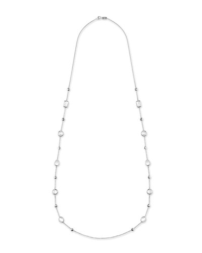 925 Rock Candy® Medium-Station Necklace in Flirt, 42
