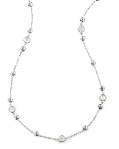 925 Rock Candy® Medium-Station Necklace in Quartz, 42