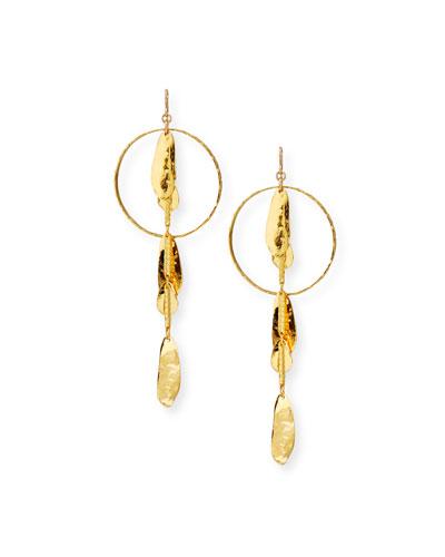 Devon Leigh Pearlescent Wave Drop Earrings 1fwQKnJHtU