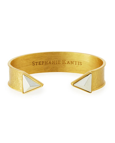 Trio Triangle Cuff Bracelet