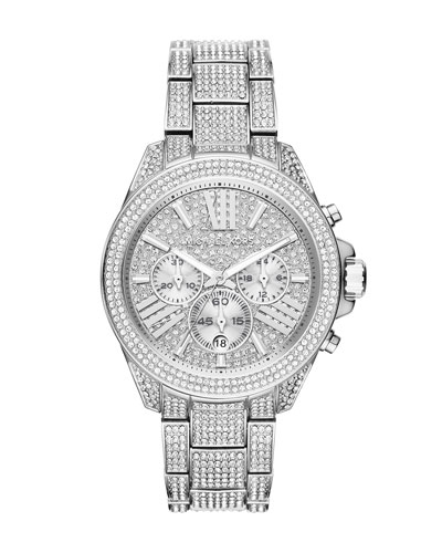 41.5mm Wren Pavé Crystal Watch