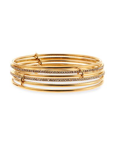 stackable bangle bracelet
