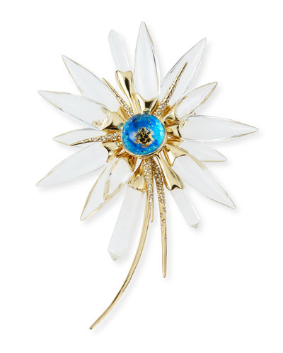 Dangling Daisy Burst Pin