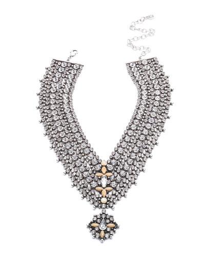 Sorella Crystal Statement Necklace