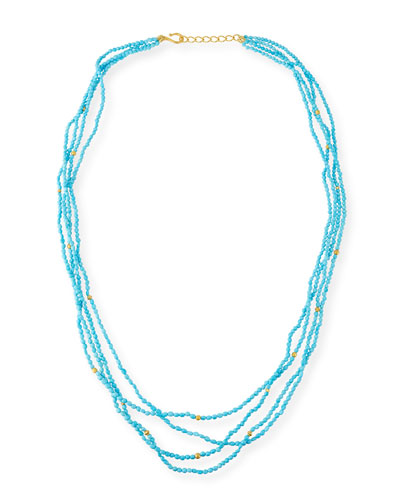 Sleeping Beauty Turquoise Necklace, 36