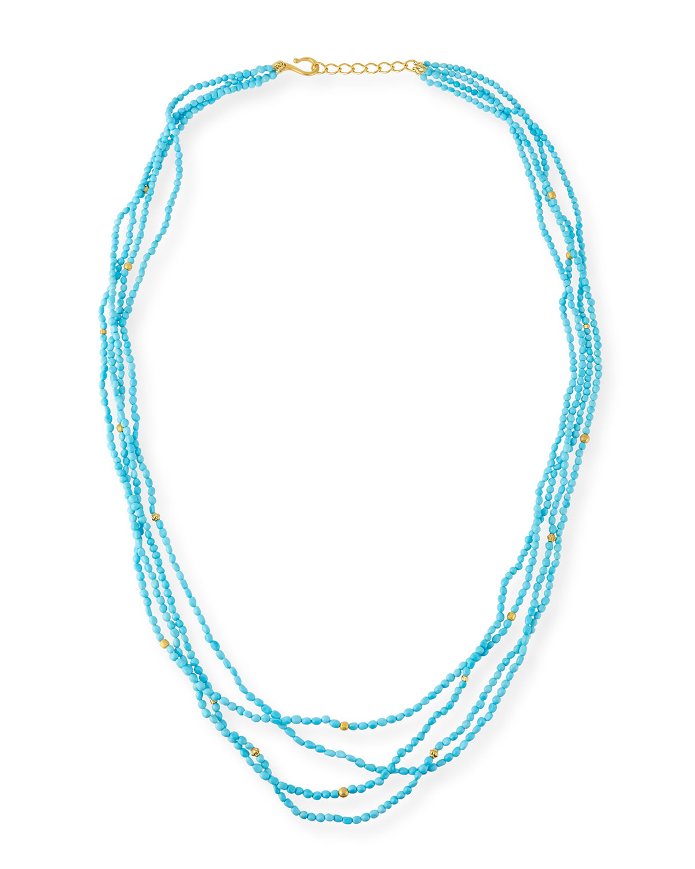 Sleeping Beauty Turquoise Necklace, 36