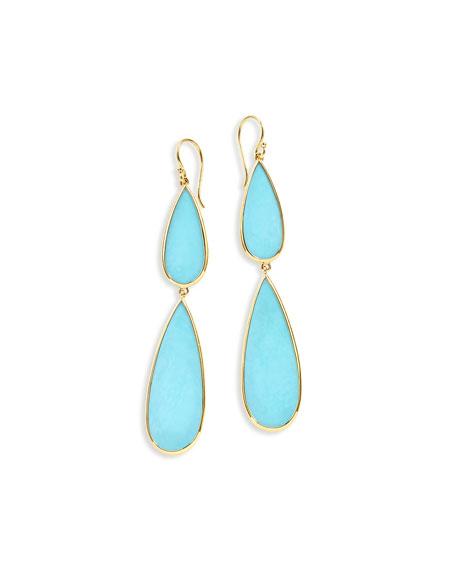 Ippolita 18K Polished Rock Candy Double-Drop Earrings