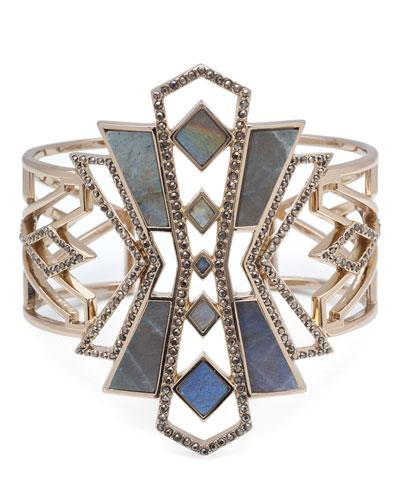 Odeon Labradorite Cuff Bracelet