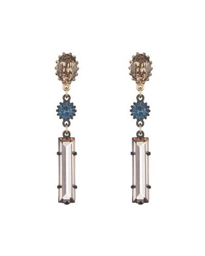Métro Linear Drop Earrings