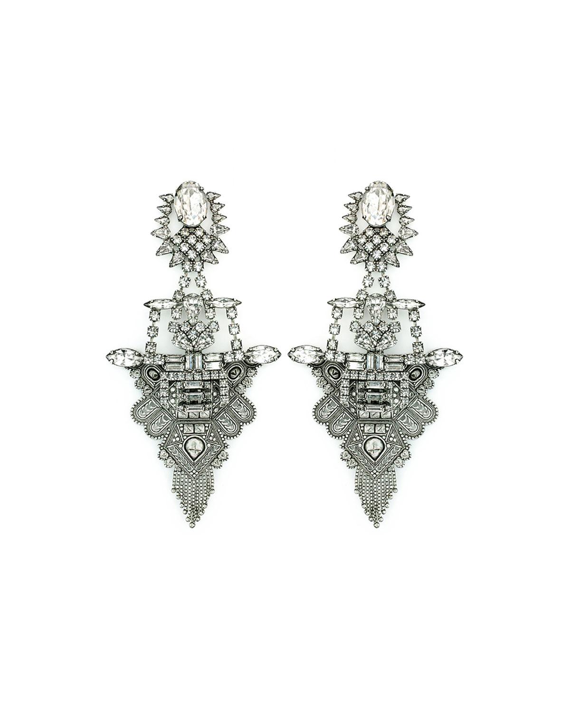 Scarlett Crystal Statement Earrings