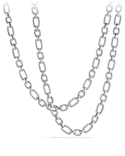 9.5mm Cushion Link Chain Necklace, 36
