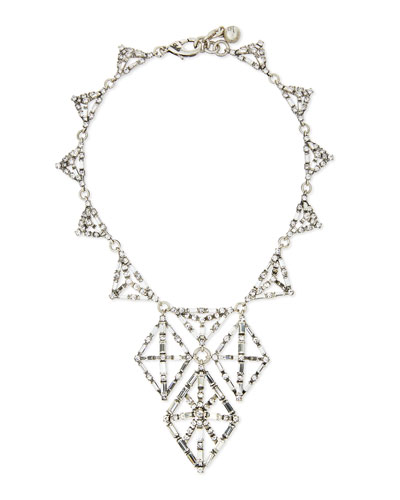 Proxima Crystal Statement Necklace