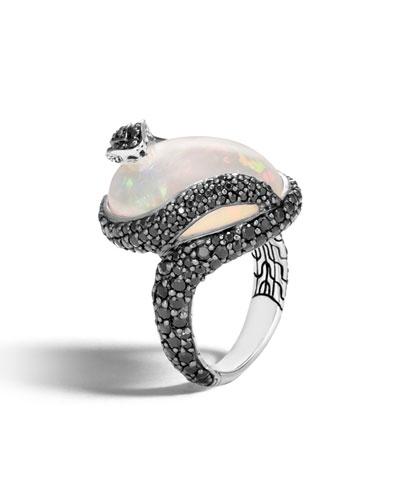 Legends Cobra Tanzanite & Diamond Ring with Diamonds, Size 7