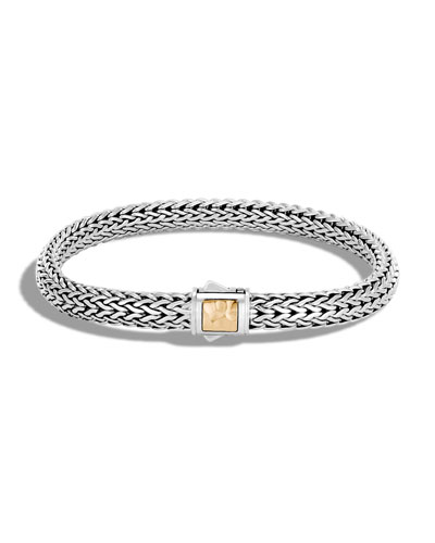 Extra Small Classic Chain Gold & Silver Bracelet