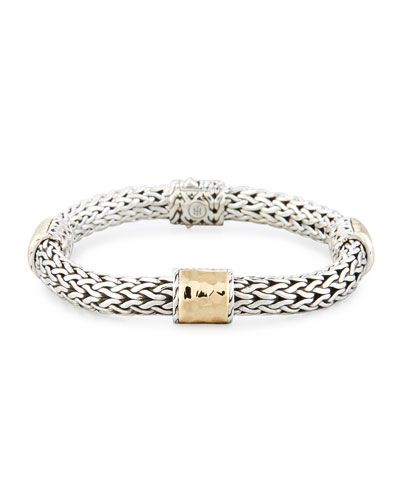 Medium Classic Chain Four Station Bracelet