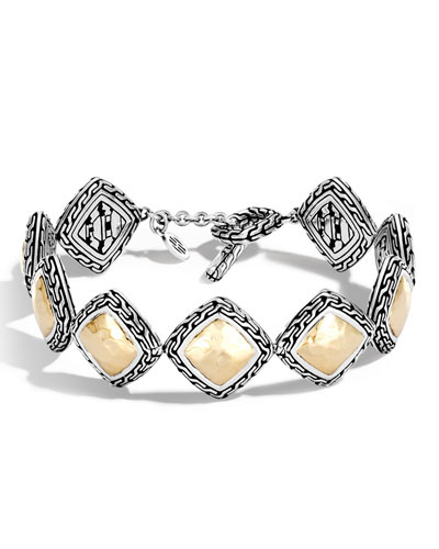 Medium Classic Chain Heritage Quadrangle Bracelet