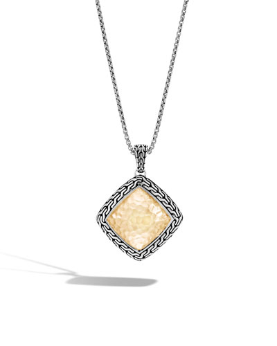 Classic Chain Gold & Silver Heritage Necklace