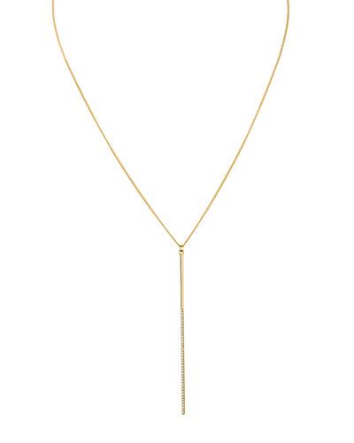 Mini Crystal Bar Necklace