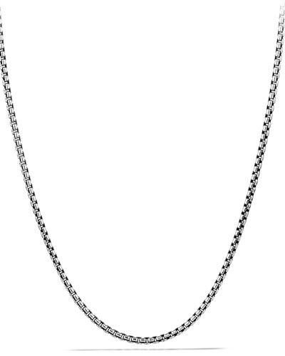 Sterling Silver & 18K Twisted Link Necklace, 36