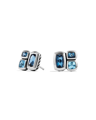 Confetti Topaz Stud Earrings