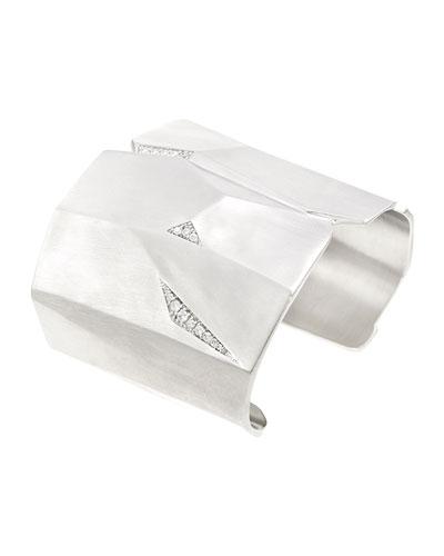 Constance Pavé Crystal Cuff Bracelet