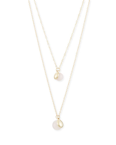 Rococo Simulated Pearl Necklace