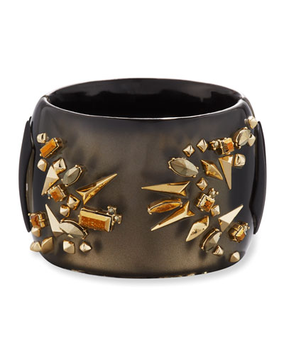 Studded Hinge Cuff Bracelet