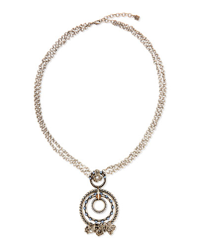 Kleo Crystal Pendant Necklace