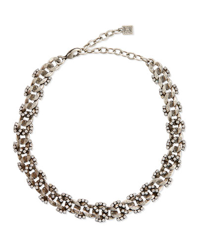 Selena Crystal Choker Necklace